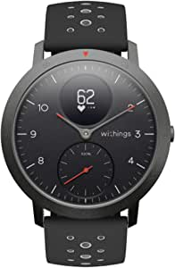 Withings Steel HR Sport Hybrid Smartwatch Activity Sleep Fitness Heart Rate Tracker Connected GPS Smart Wearable computer