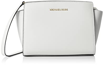 9812f0694eee Image Unavailable. Image not available for. Color: MICHAEL Michael Kors  Women's Selma Medium Messenger Bag ...