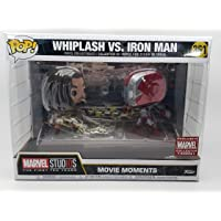 Pop! Marvel Iron Man 2 Movie Moments #361 Whiplash Vs Iron Man Marvel Collector Corps Exclusive Vinyl Collectibles