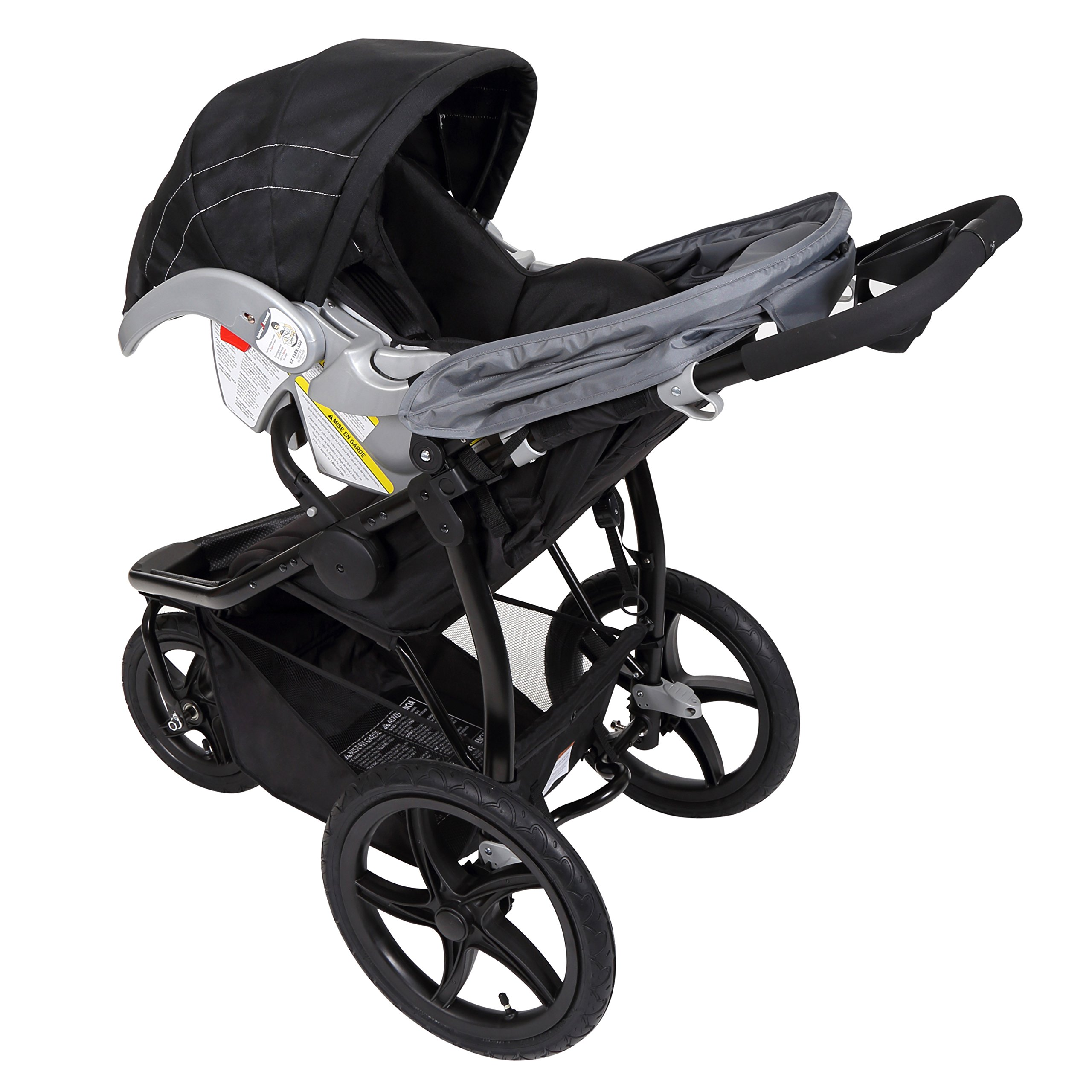 Baby Trend Stealth Jogging Stroller, Alloy by Baby Trend (Image #3)