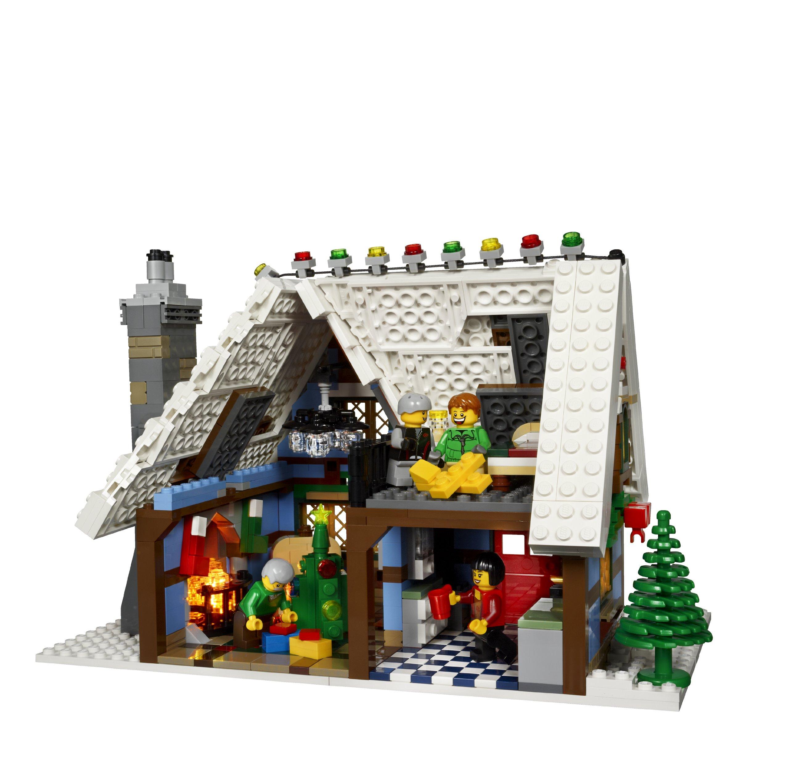 lego creator expert winter village cottage 10229. Black Bedroom Furniture Sets. Home Design Ideas
