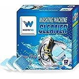 WASHINTAB Washing Machine Cleaner, Washer Cleaner, Washing Machine Tank cleaning agent, Solid Washer Tablet, Washing Machine