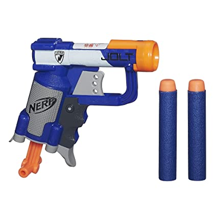 NERF N-Strike Elite Rhino-Fire Motorized Double-Barrel Blaster - Toys