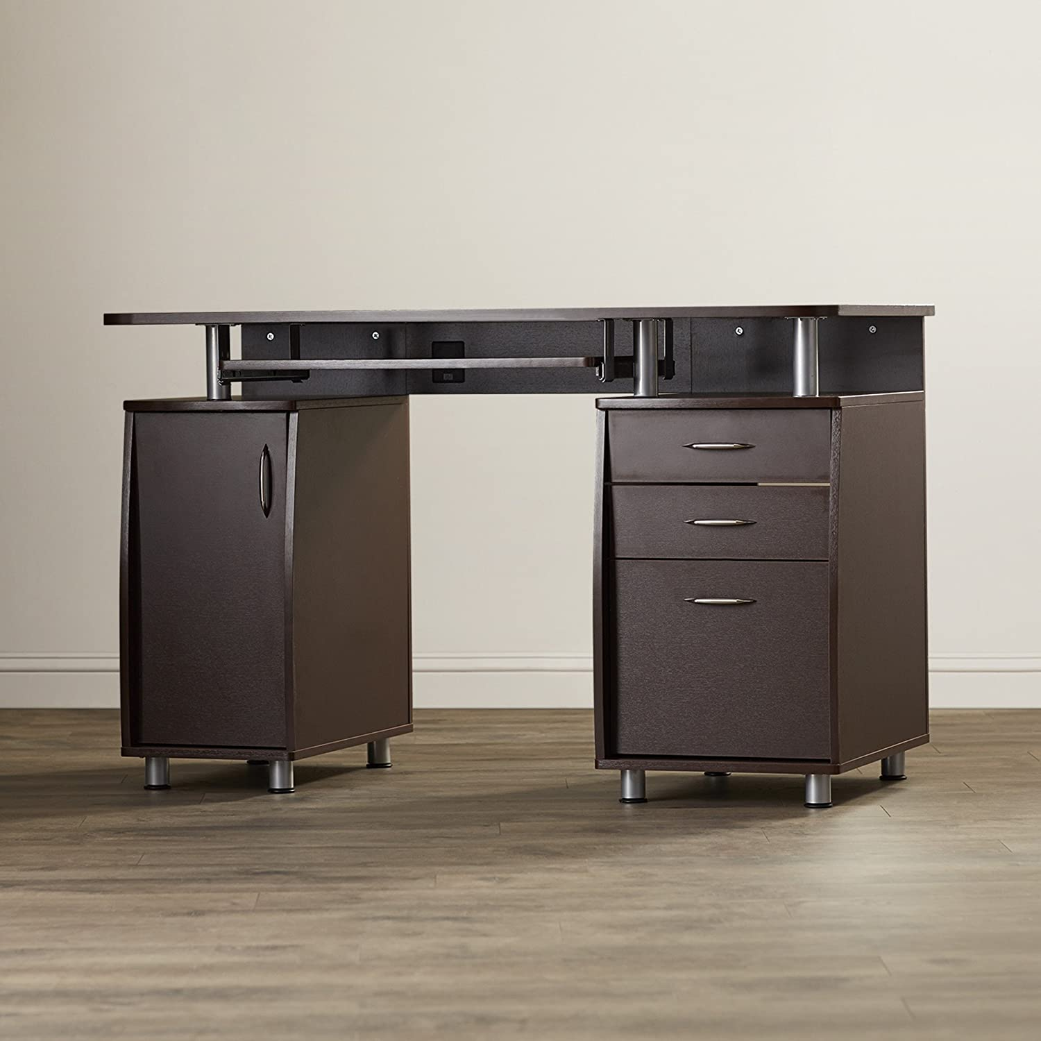 offices cabinet for modern in drawer cappuccino desks file desk home with small computer bedrooms filing