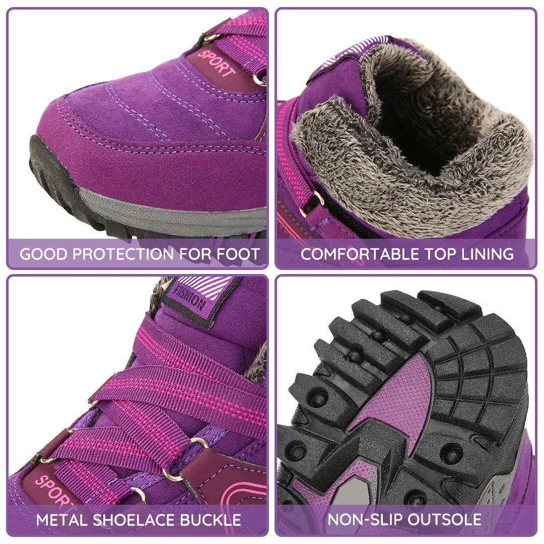 Amazon.com: Netursho - Zapatillas de senderismo para mujer ...