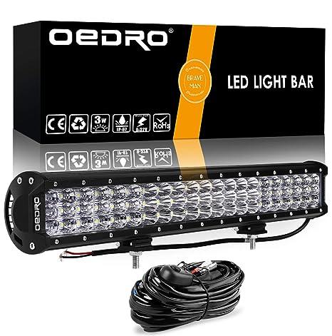 Amazon.com: LED Light Bar Wiring Harness OEDRO 300W 20Inch Tri-Rows on
