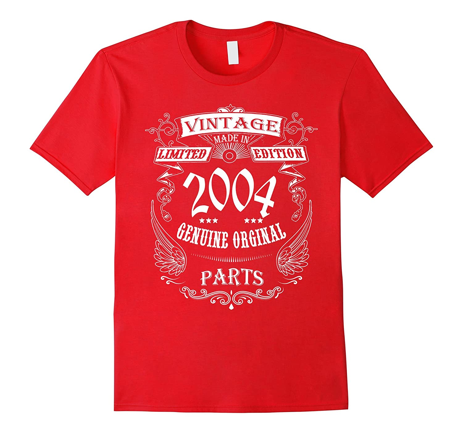 13th birthday Vintage Made in 2004 Gift ideas Guys T shirt-CD