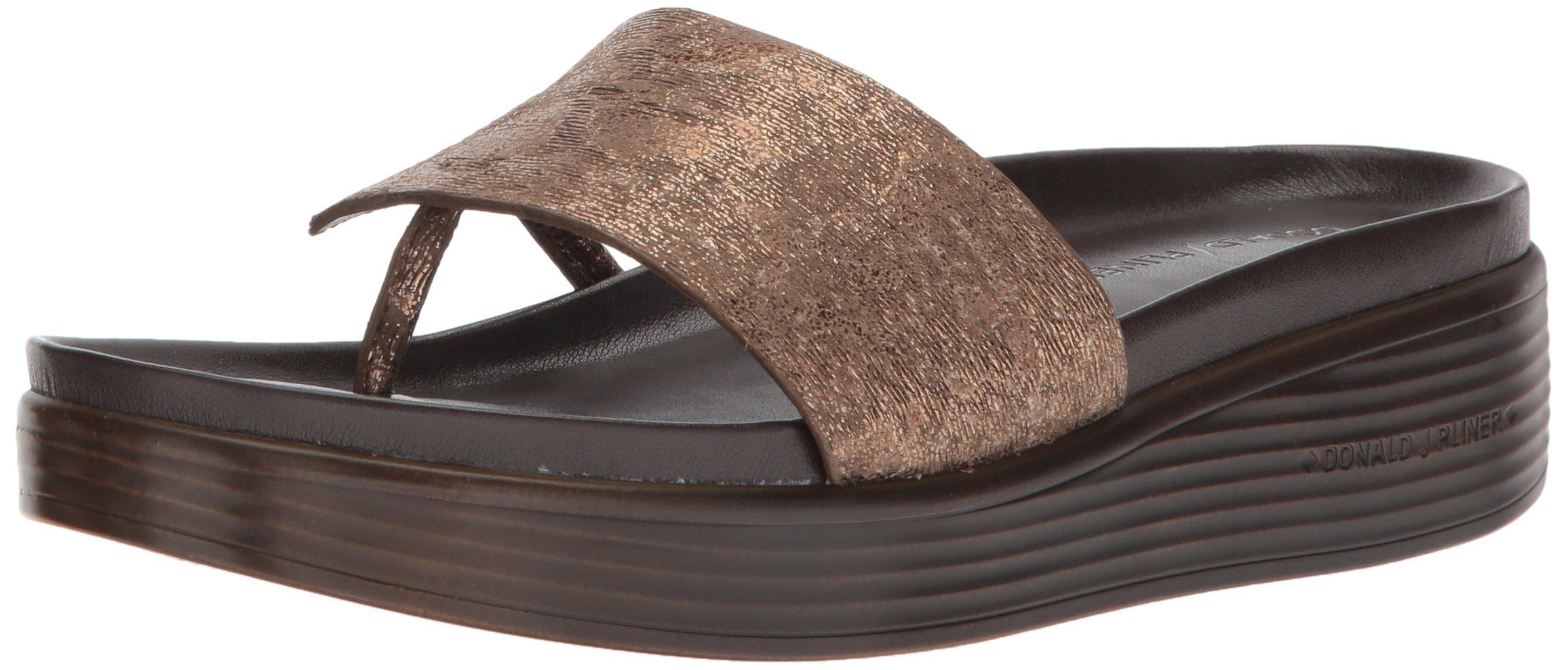 Donald J Pliner Women's FIFI19 Slide Sandal, Taupe, 8 Medium US