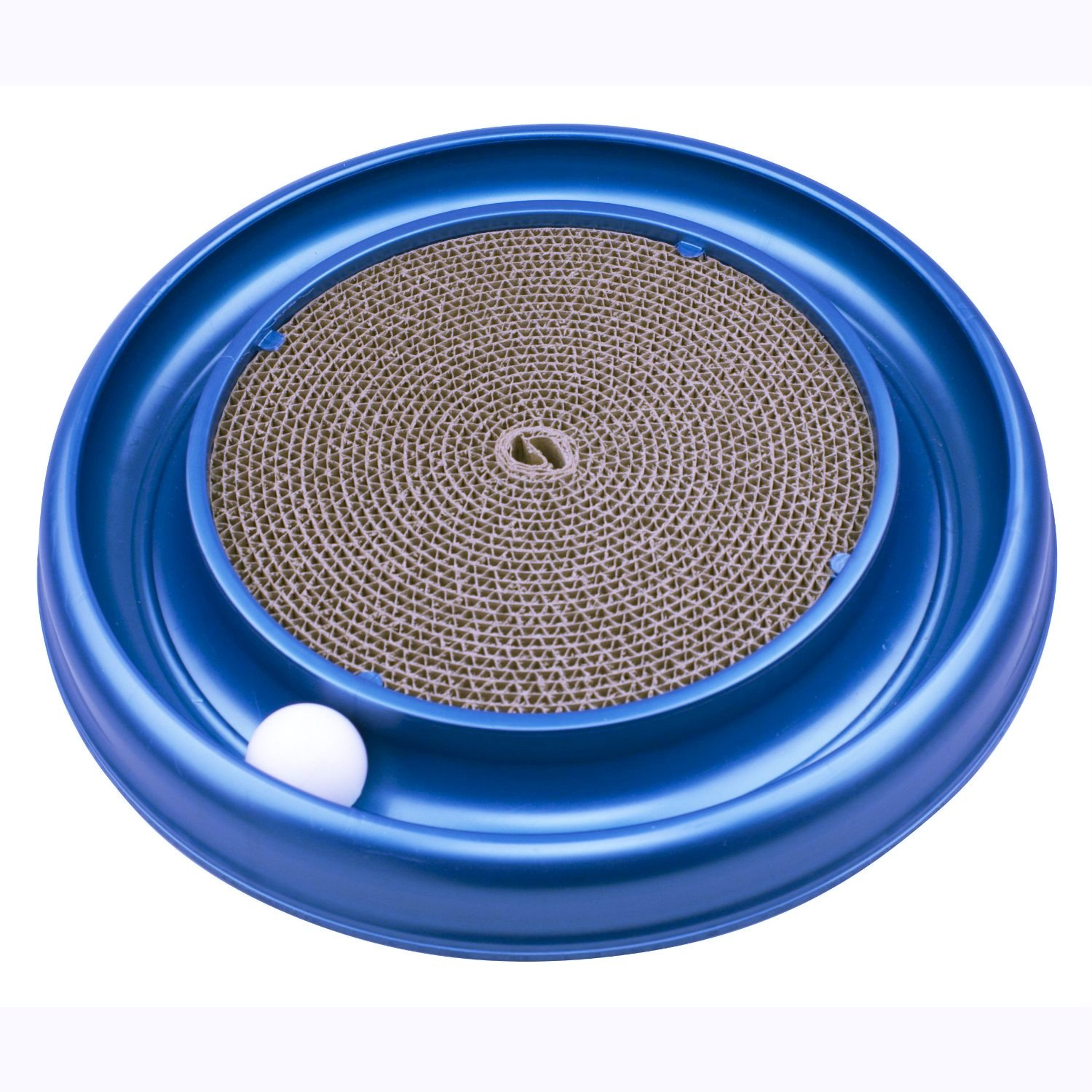 SUMCOO Eco-Friendly Cat Toys, Catnip Tunnel Track Pet Toys And Cat Cardboard Scratcher Toys