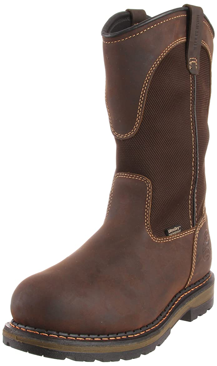 irish setter mens 11 pull-on waterproof aluminum toe work boots