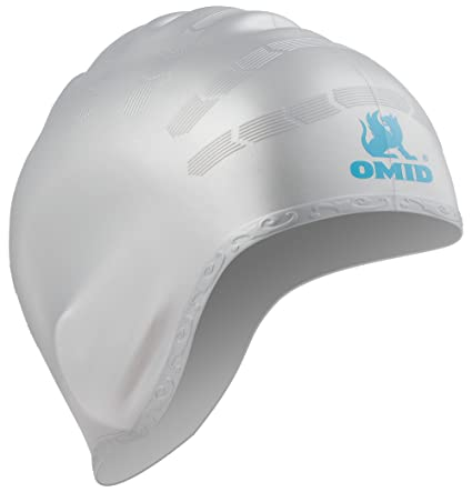a816e64922a Image Unavailable. Image not available for. Color  OMID Swim Cap Ear  Pockets Protection