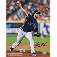 "$189 » Gerrit Cole Houston Astros Autographed 8"" x 10"" Throwing Photograph - Fanatics Authentic Certified - Autographed MLB Photos"