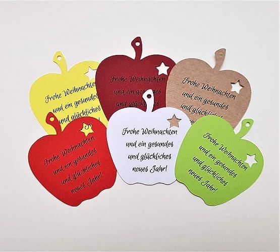 Etiketten Frohe Weihnachten.25 Geschenkanhänger Papieranhänger Tags Etiketten Frohe Weihnachten