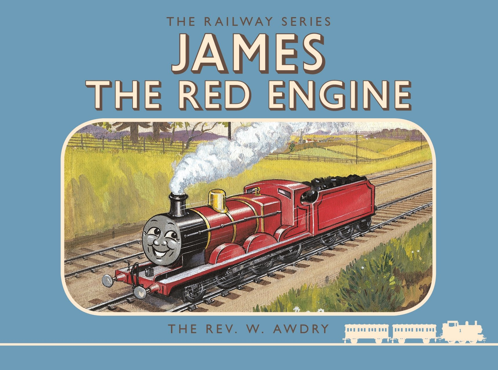 Thomas the Tank Engine: The Railway Series: James the Red ...