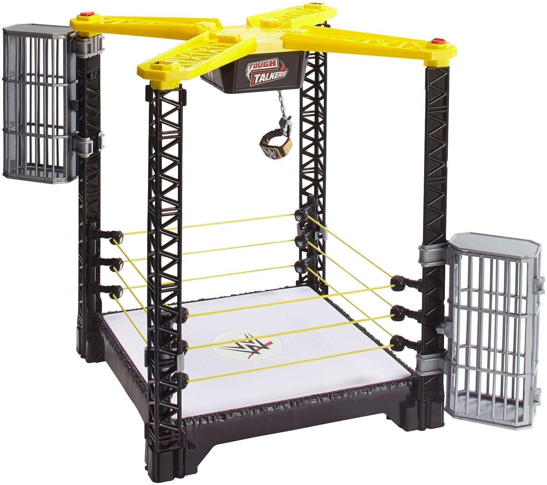 WWE FFH41 Tough Talkers Championship TJouet Ring de Catch Mattel