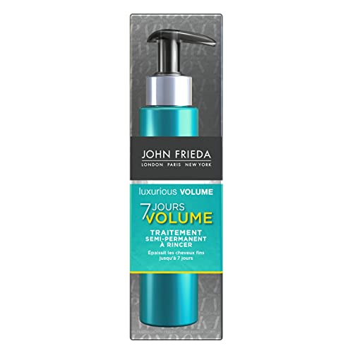 JOHN FRIEDA Luxurious Volume Traitement Semi-Permanent à Rincer 7 Jours 100 ml