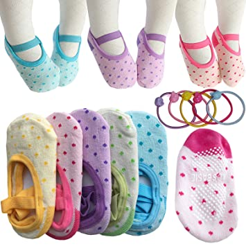 Amazon Com Kid Essentials 5 Pairs 8 36 Months Cute Lovely Baby
