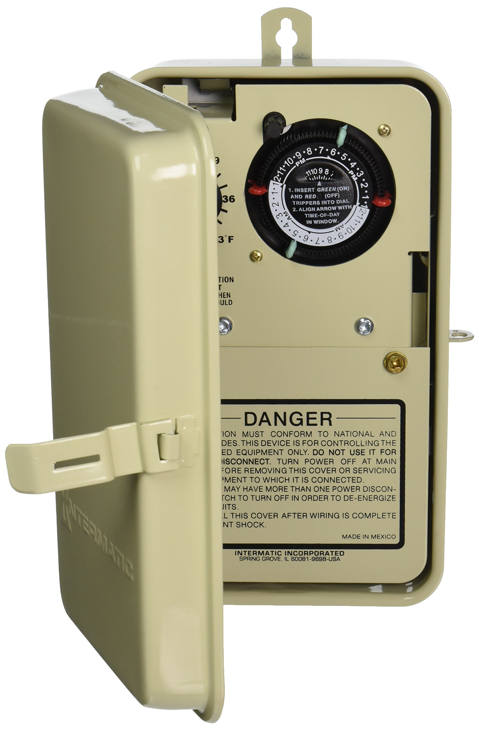 Intermatic PF1103T 1.5/3HP Freeze Protection Timer and Thermostat by Intermatic