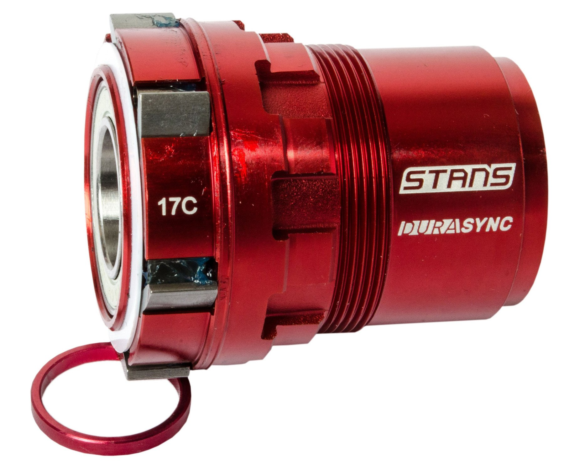 Stans Freehub body kit, Durasync 6-pawl, Neo, XD - red - ZH1642