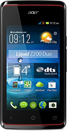 Acer Liquid Z200 Duo - Smartphone libre Android (pantalla 4 ...