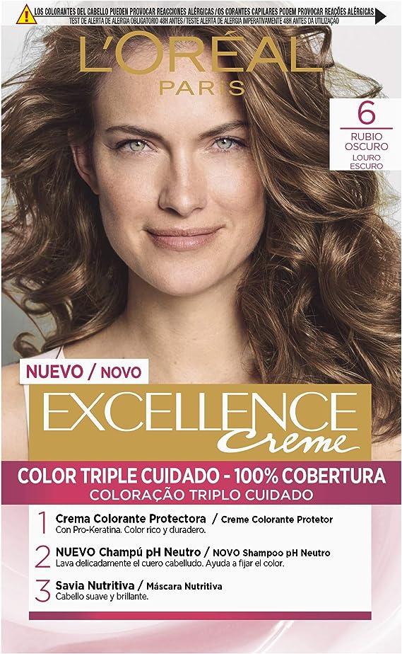 LOréal Paris Excellence Coloración Excellence Crème Triple ...