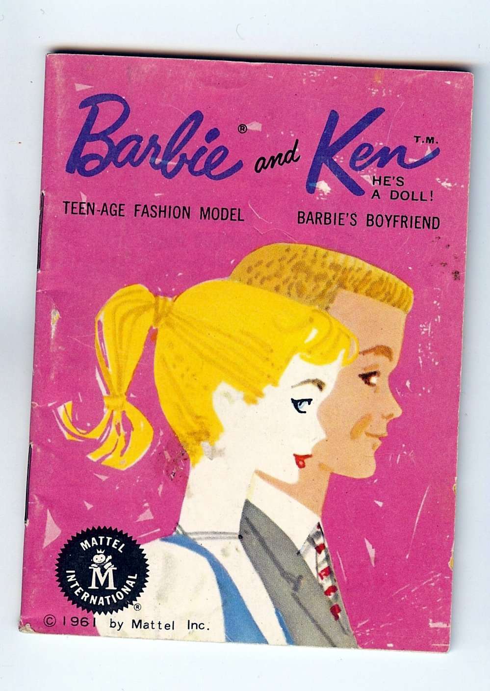 Barbie Teen-Age Fashion Model and Ken He's a Doll Barbie's Boyfriend