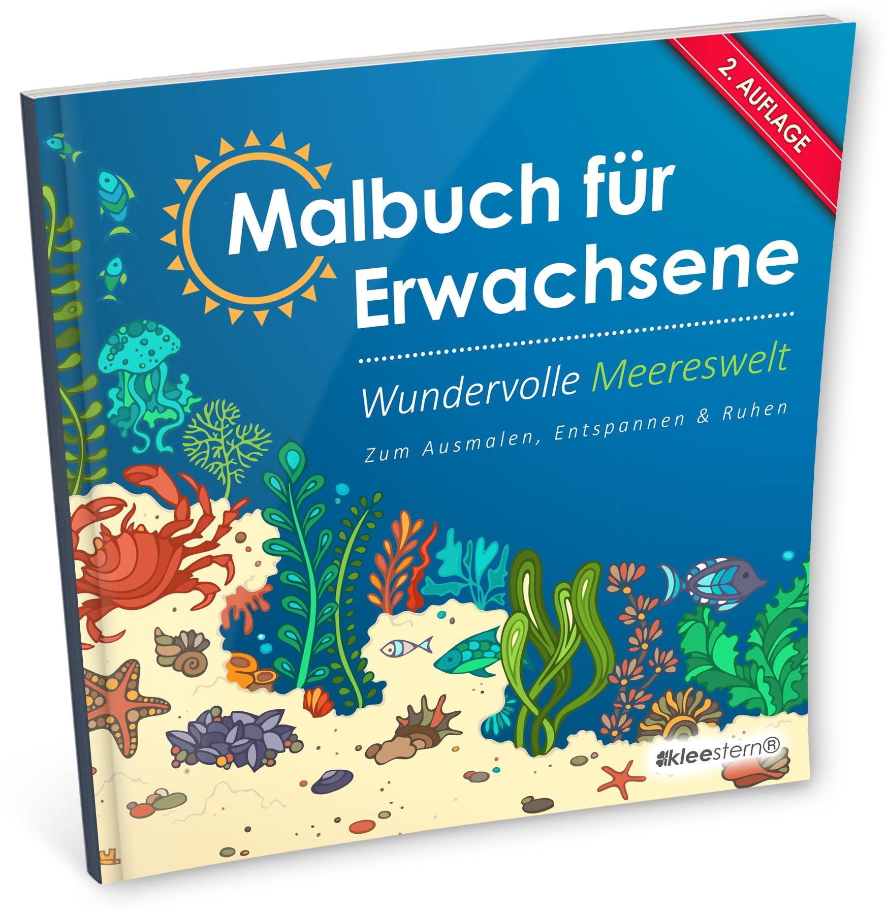 Malbuch für Erwachsene: Wundervolle Meereswelt zum Ausmalen ...