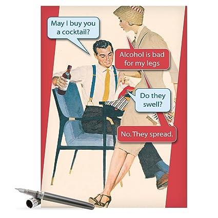 Amazon hilarious happy birthday greeting card 85 x 11 hilarious happy birthday greeting card 85quot x 11quot jumbo sized bad m4hsunfo
