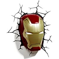 3D Light FX Marvel Iron Man Mask 3D Deco LED Wall Light