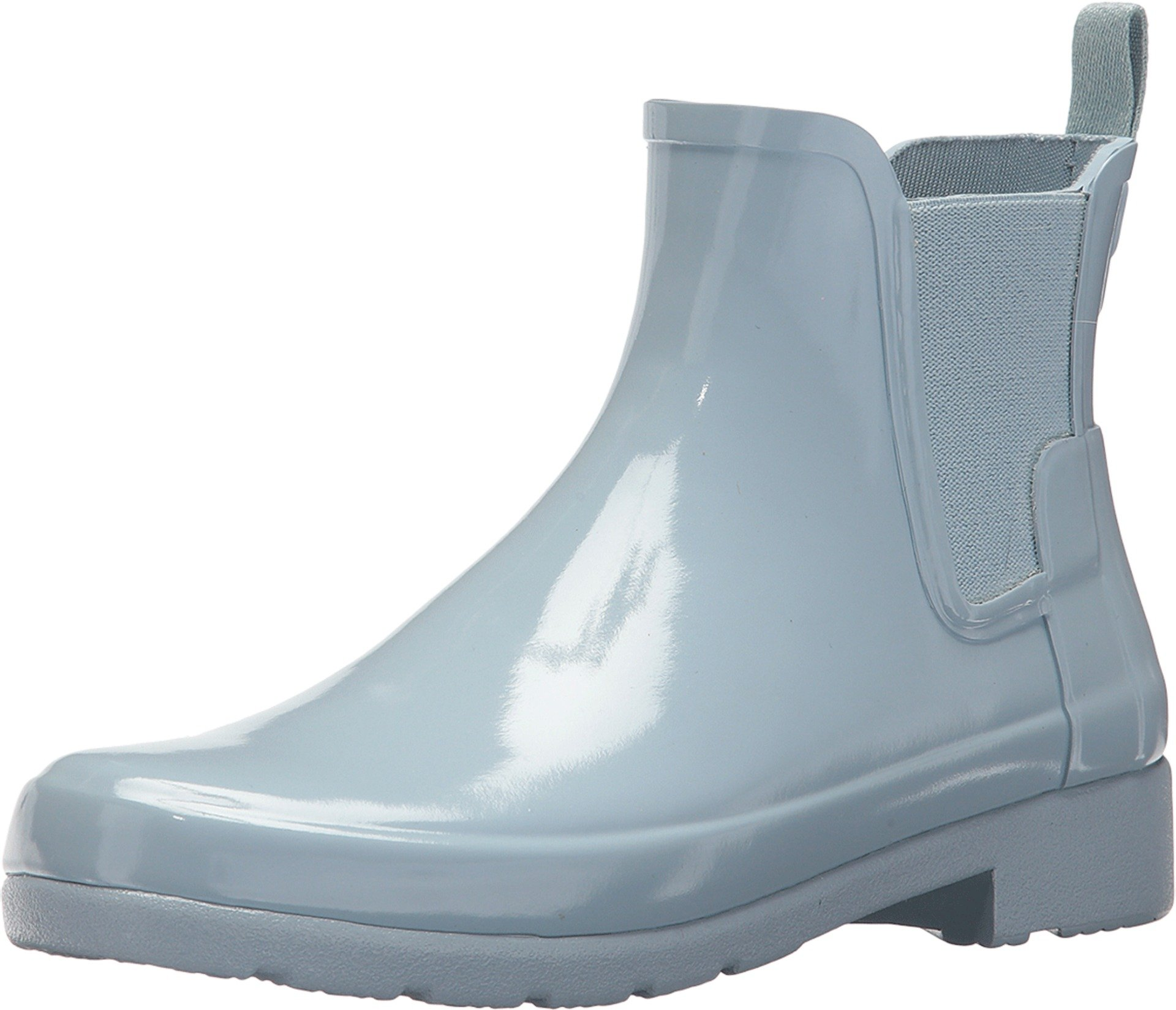Hunter Women's Original Refined Chelsea Gloss Boots, Fountain Blue (7 M US)