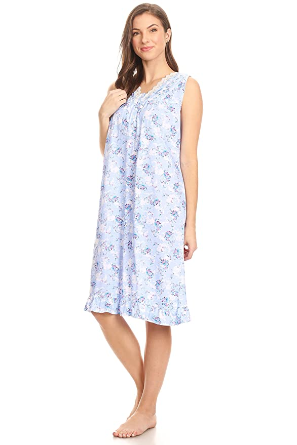 00112 Women Night Gowns Sleep Shirts Pajamas at Amazon Women s Clothing  store  423a0828f