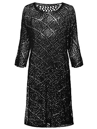 7th Element Plus Size Crochet Dress Cover Ups Dresses for Women
