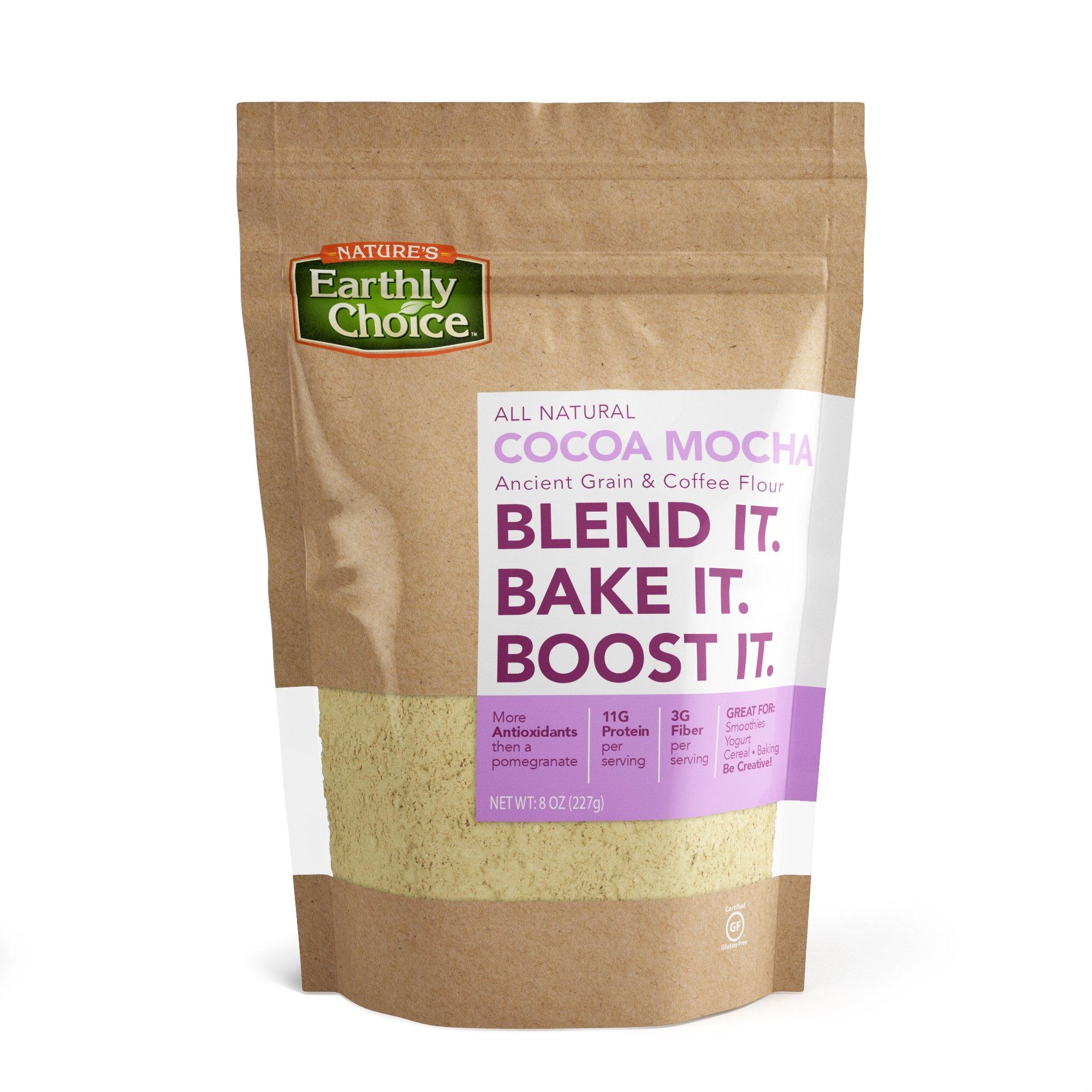 Nature's Earthly Choice Cocoa Mocha, 8 Ounce
