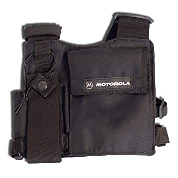 Motorola, chest harness bag for hand-held radio, HLN6602A: Amazon.co