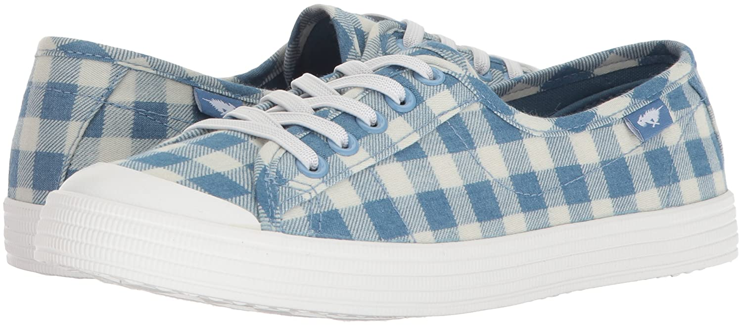 Rocket Dog Women's Chowchow Cleveland Cotton Sneaker B076T7WV7Y 8 B(M) US|Blue