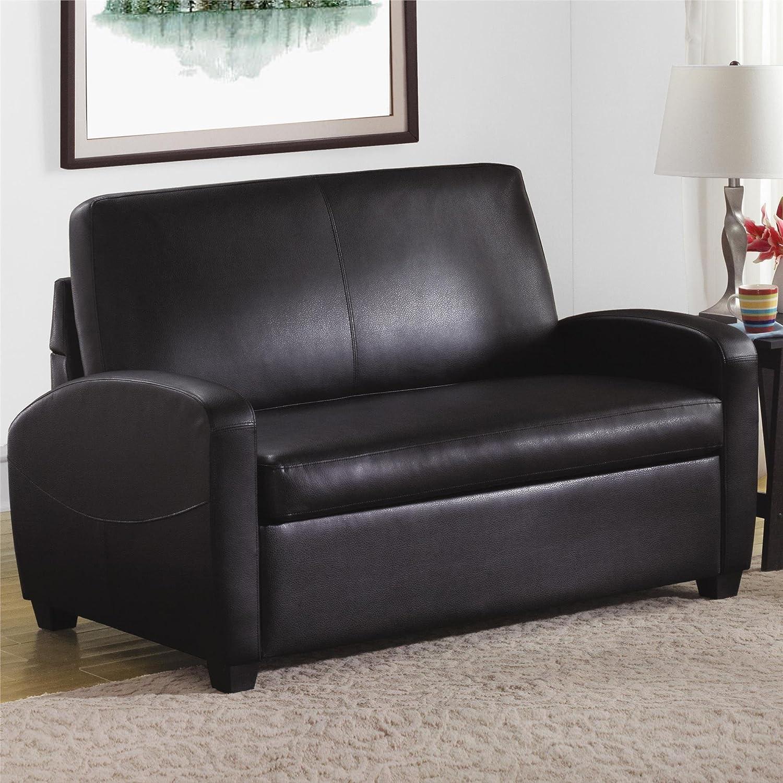 Wondrous Dorel Living Carver Sofa Sleeper Black Interior Design Ideas Tzicisoteloinfo