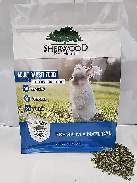Adult Rabbit Food - Free Choice Timothy Pellet (10)