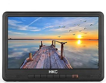 HKC P10H6 Mini TV portátil (TV HD de 10 Pulgadas) HDMI + USB ...