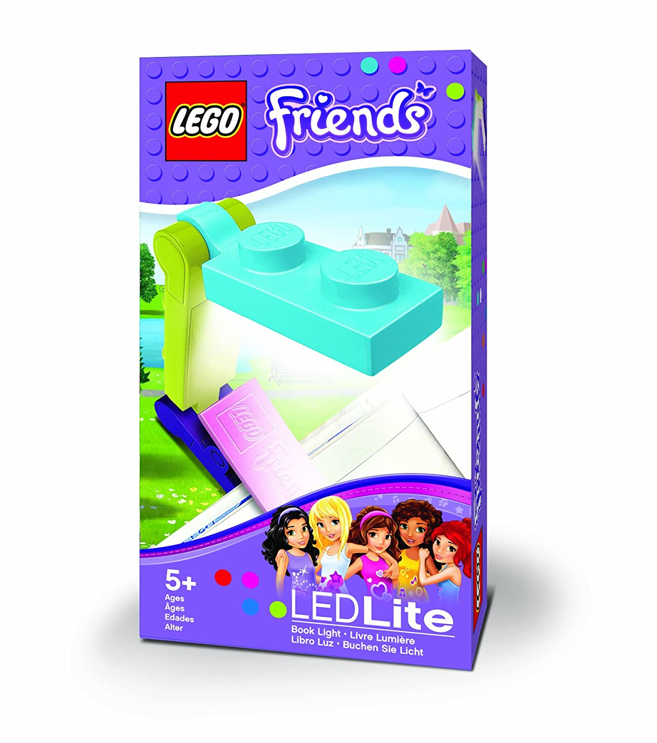 lego friends book light toys games