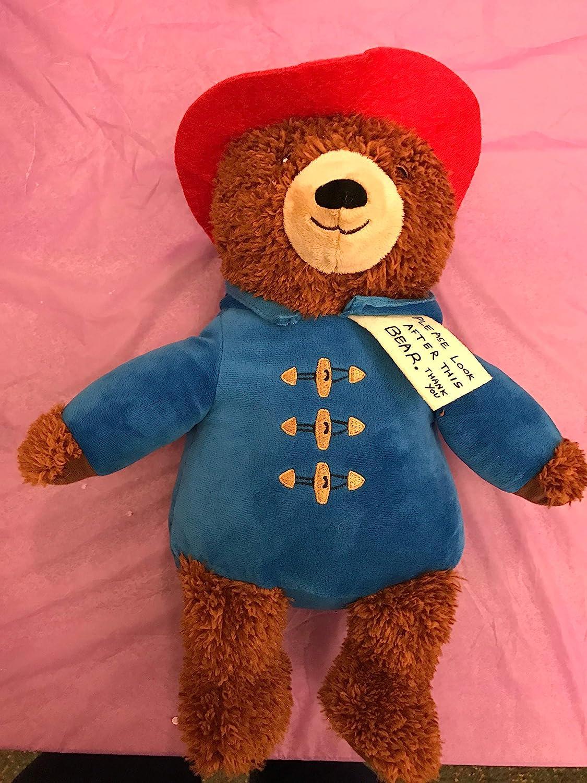 Weighted stuffed animal 3 1//2 lbs Paddington Bear weighted buddy
