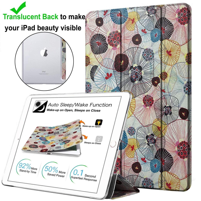 DuraSafe プリント柄 三つ折りケース & カバー B07PRR96HT iPad プリント柄 PRO 12.9