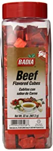 Badia Beef Bouillon Powdered Cubes, 32 Ounce