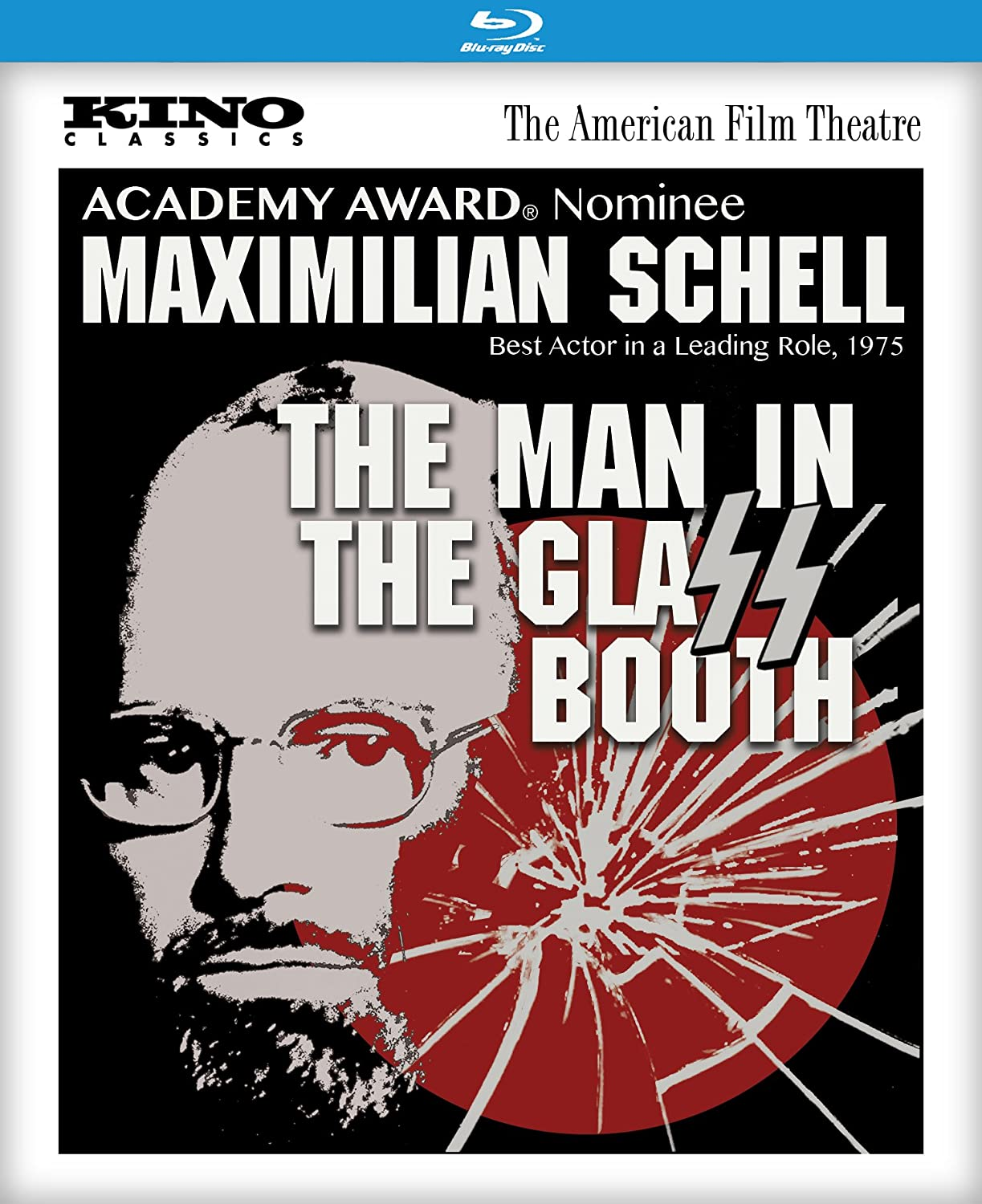 amazon com the man in the glass booth 1975 blu ray