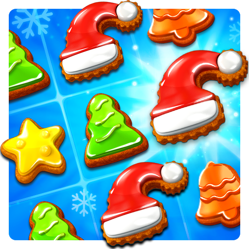 Christmas Cookie - Santa Claus's Match 3 Adventure (Desert Cookies)