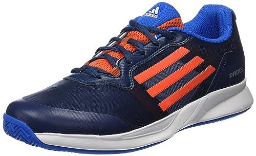 adidas Sonic Court Padel, Zapatillas de Tenis para Hombre, Naranja/Azul (Azumin/Narsup/Azuimp), 42 EU: Amazon.es: Zapatos y complementos