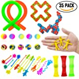 35 Pack Sensory Toys Set Relieves Stress and