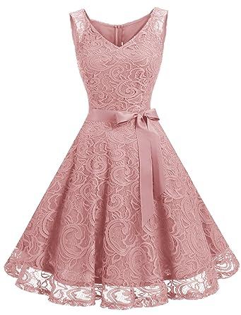 Kleid knielang ohne armel