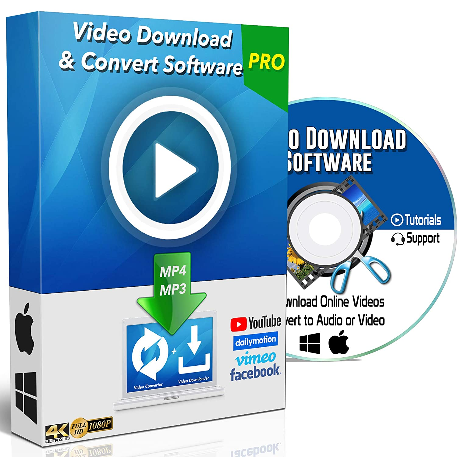 YouTube to MP3 / MP4 Online Video Downloader & Converter Software for  Windows PC & Mac Computer Internet Website HD Any Clip Grabber Vimeo  Facebook