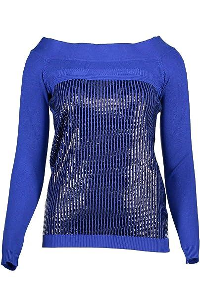 Guess Jeans Maglia donna Blu nuovo e originale