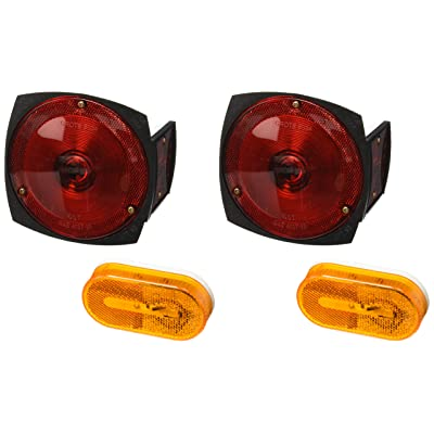Grote 65350-5 Trailer Lighting Kit with Sidemarker Light (with Clearance Marker): Automotive